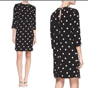 Kate spade dizzy polka dot dress